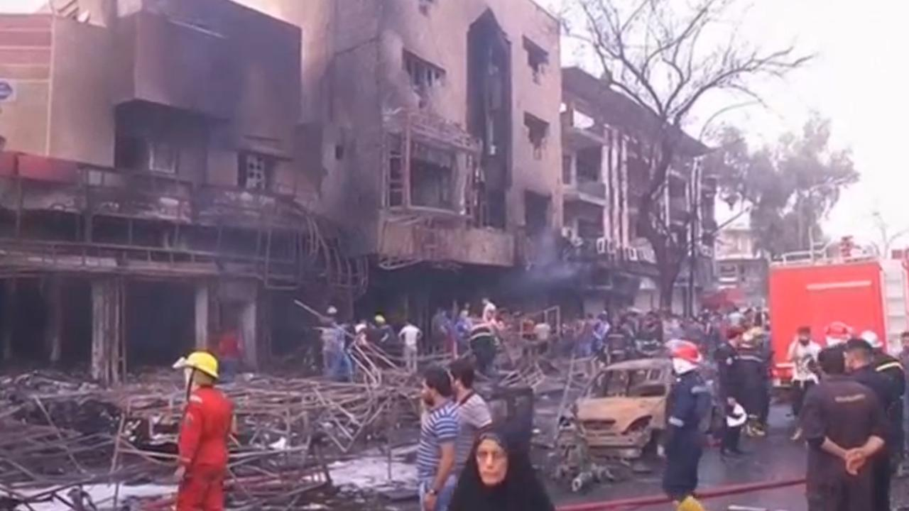 Dodental aanslagen Bagdad loopt op