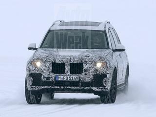 Het toekomstige ruimtemonster van BMW wordt uitvoerig getest in de Arctische kou, en daarbij betrapt door spionagefotografen.