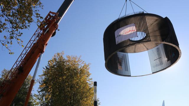 Kunstpaviljoen ter nagedachtenis aan Martin Bril geplaatst