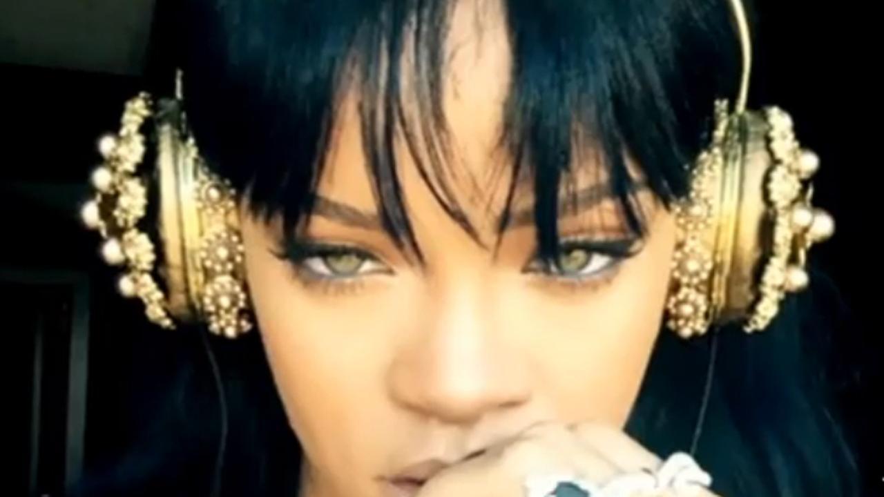 Rihanna hint op voltooiing nieuw album