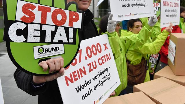 Duits grondwettelijk hof wijst bezwaren tegen ondertekening CETA af