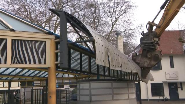 Sloop voormalig Dierenpark Emmen gestart