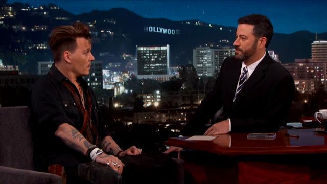 Johnny Depp over zijn publieke excuses aan Australië