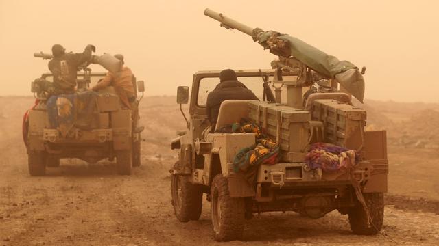 Iraakse troepen brengen IS belangrijke slag toe in Mosul