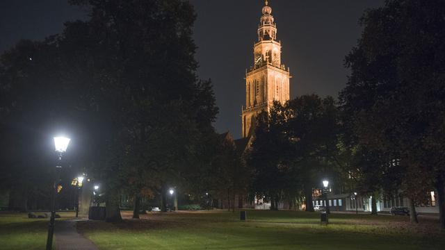 Nieuwe verlichting voor Martinikerkhof