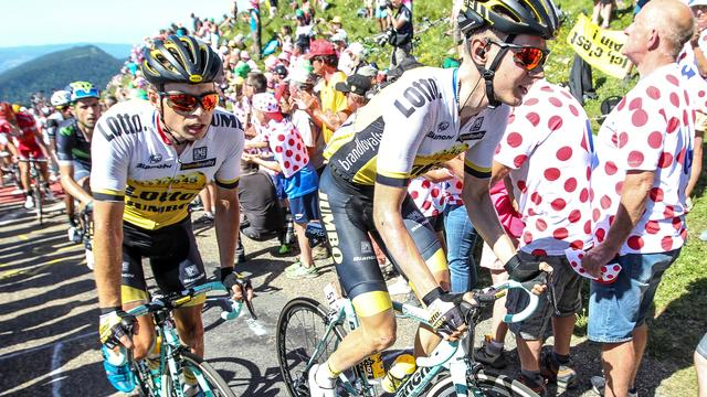 Lotto-Jumbo in kelder financieel klassement Tour