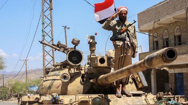 'Burgers gebruikt als menselijk schild in oorlog Jemen'