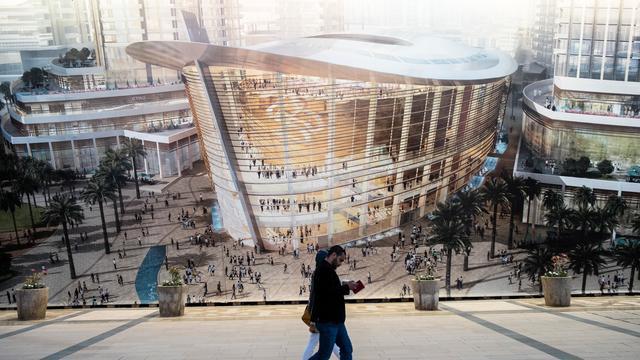 Dubai wil strijd aangaan met Sydney met nieuw operagebouw