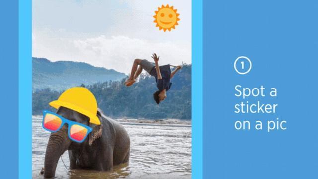 Twitter laat gebruikers virtuele stickers op foto's plaatsen