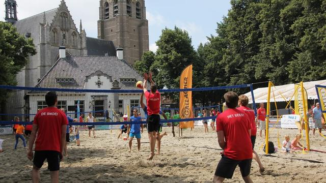 Beachevenement Wouw boft met tropische temperaturen