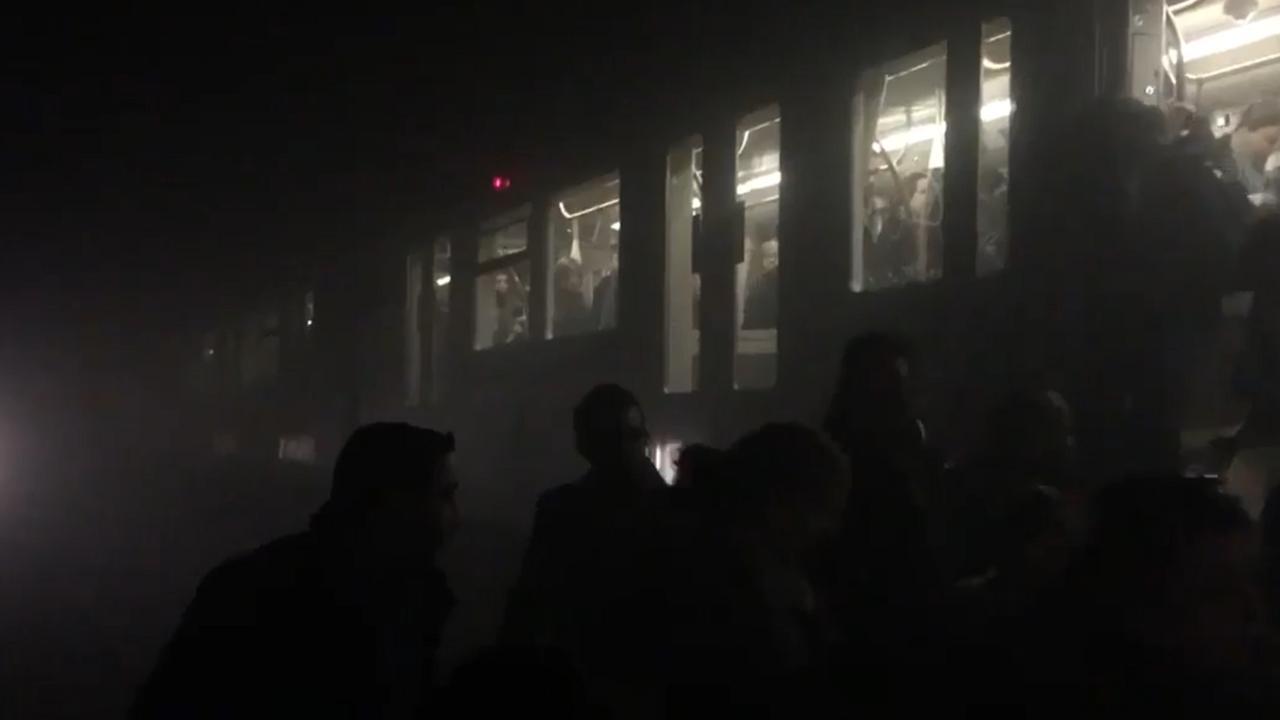Evacuatie na explosie metro Brussel