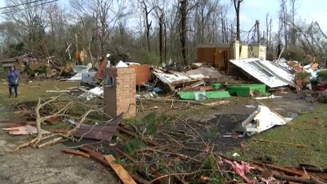Schade in zuiden Verenigde Staten door extreem weer