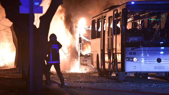 Koerdische militanten eisen aanslag in Ankara op