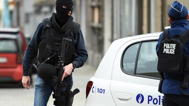 Anti-terreuroperatie in Brusselse wijk Schaarbeek