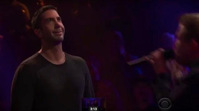 David Schwimmer in rapbattle met Rebel Wilson