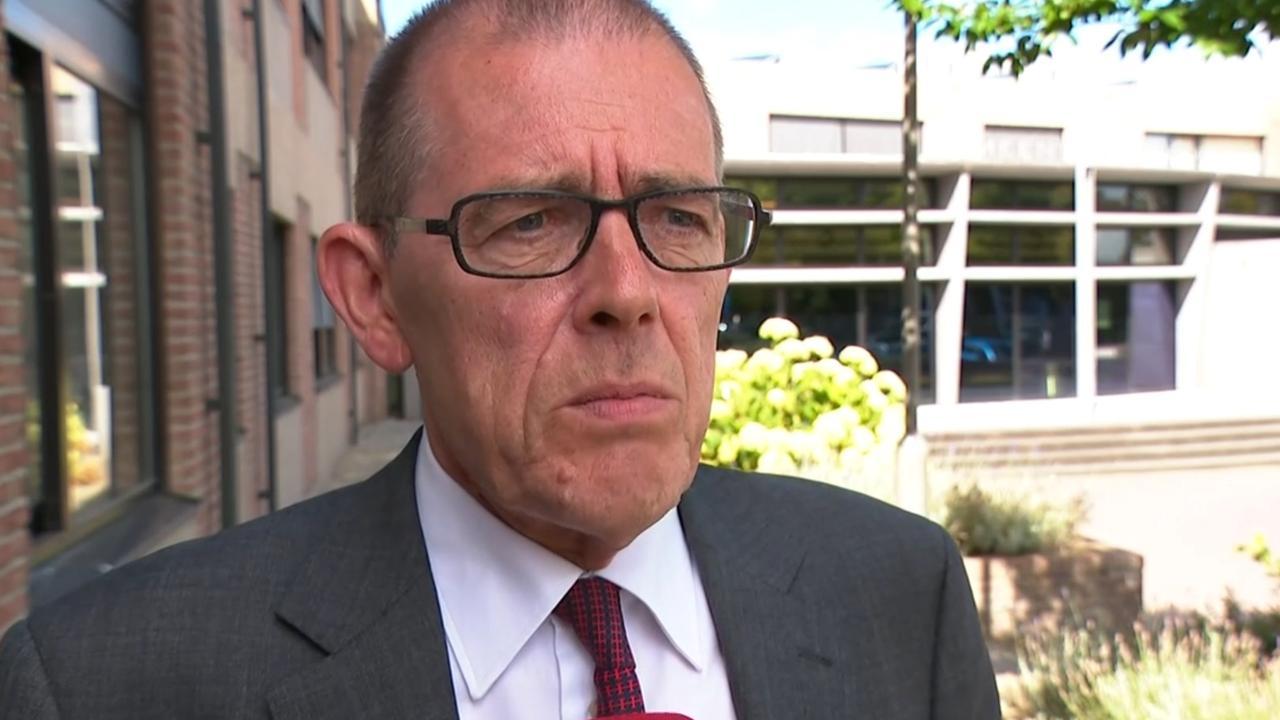 Burgemeester Piet Zoon over brand Krabbendijke