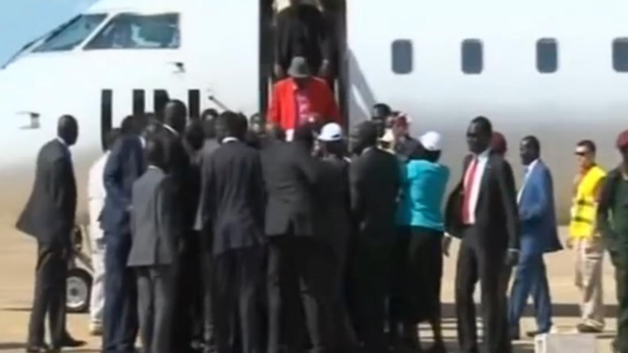 Rebellenleider Machar benoemd tot vicepresident Zuid-Sudan