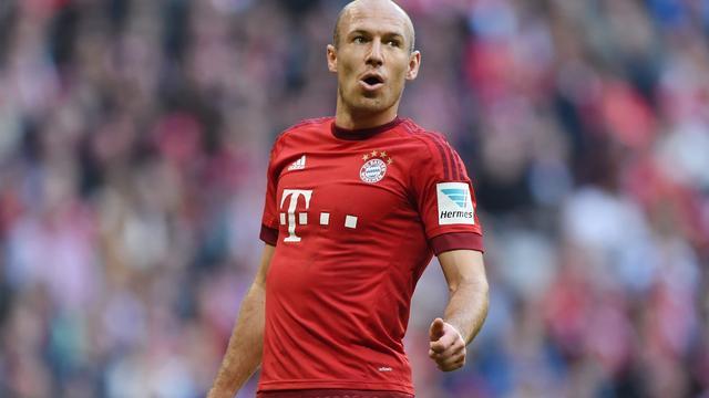 Robben maakt rentree bij Bayern München in oefenduel