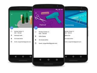 App geeft suggesties bij invoeren van titel, locatie of mensen