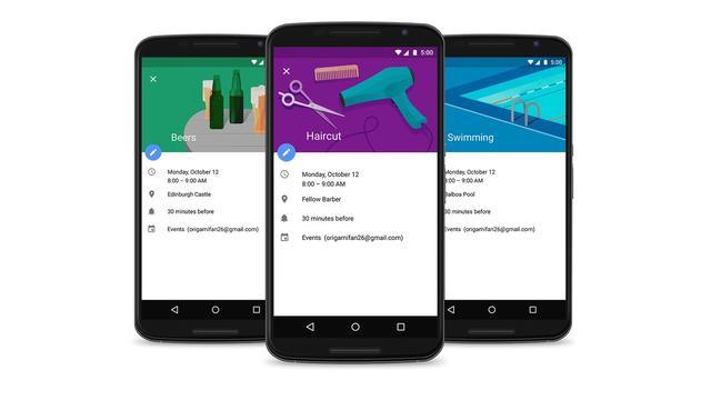 Suggesties en feestdagen in Google Calendar-app
