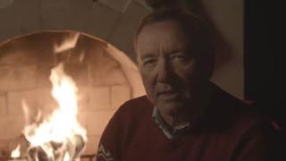 Kevin Spacey geeft kerstboodschap als Frank Underwood
