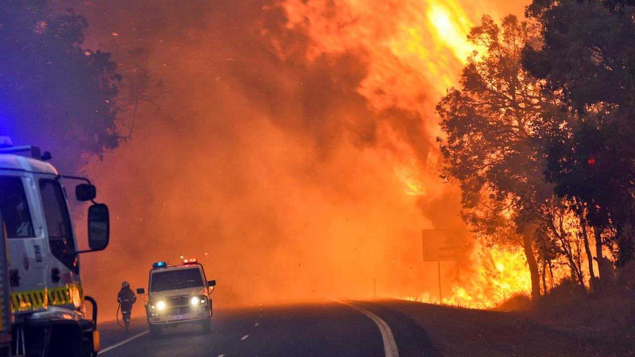 Grote brand in Australië legt bos in as