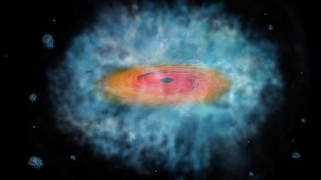 Aanwijzingen voor ontstaan zwarte gaten gevonden