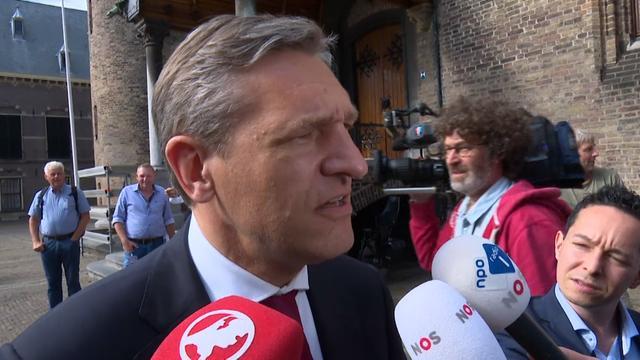 Buma: 'Deze vier partijen willen dat hier kabinet uitkomt'