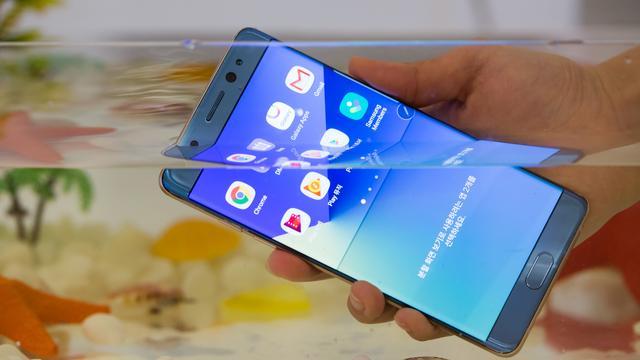Aandeel Samsung stort in door ontploffingsgevaar Note 7