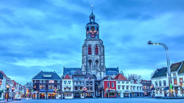 Spandoeken bij kerststal Bergen op Zoom wekken woede van VVD
