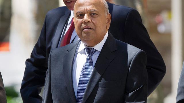 Zuid-Afrikaanse minister van Financiën toch niet vervolgd