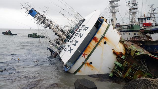 Zeker tien doden door tyfoon in China