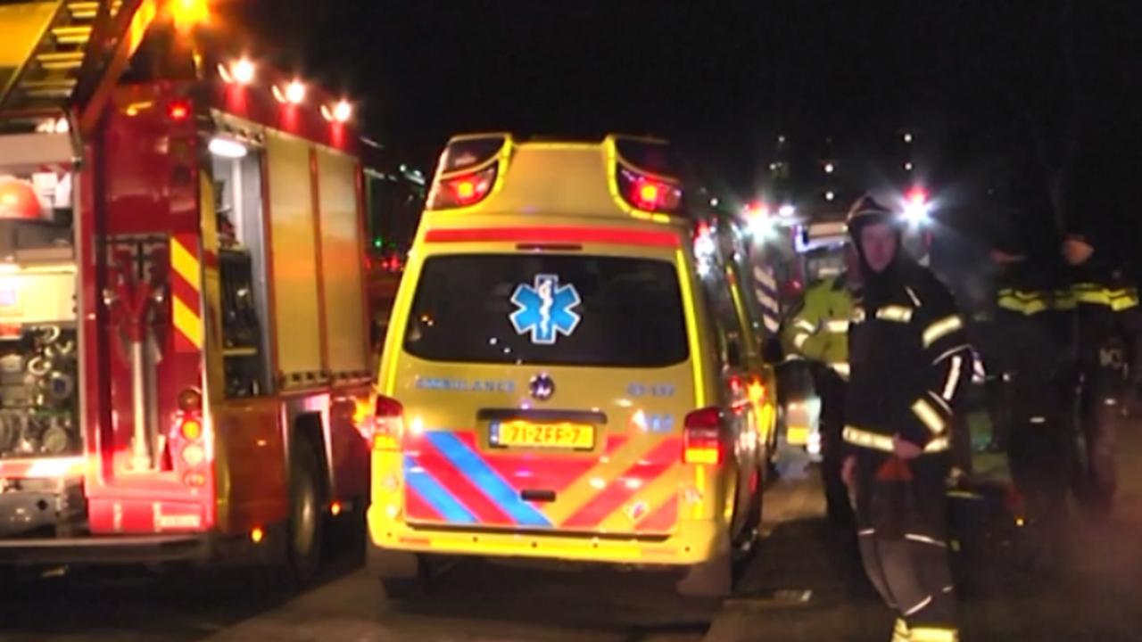 Reactie buurtbewoners kort na brand Emmen