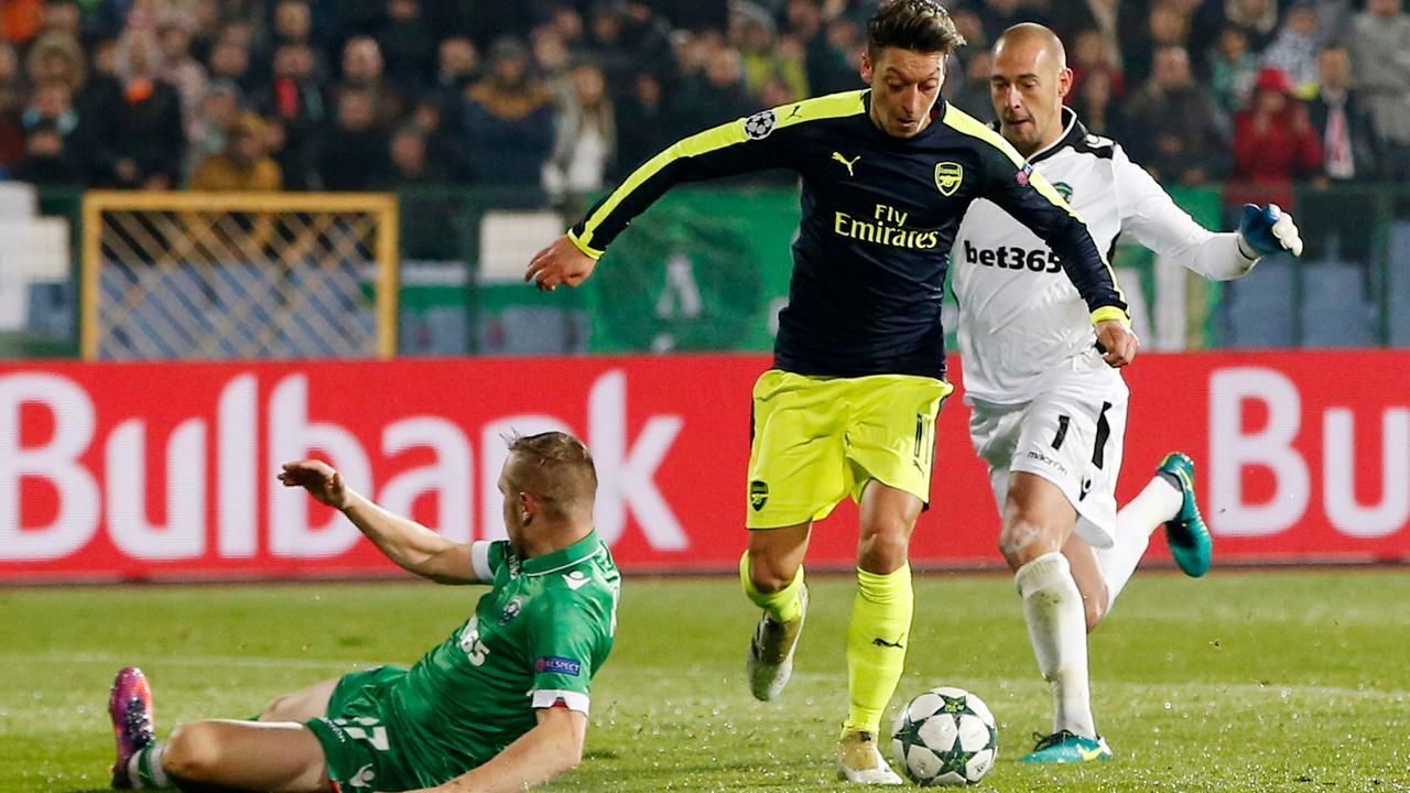 Samenvatting Ludogorets-Arsenal (2-3)