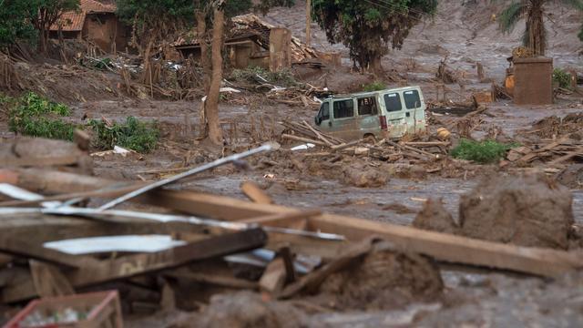 Water Brazilië veilig verklaard na ramp ijzerertsmijn