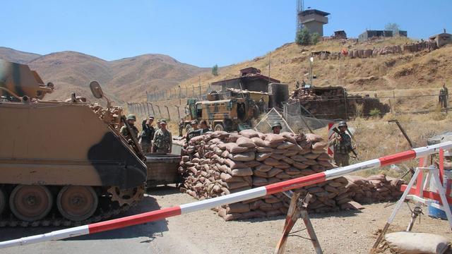 Turkse leger doodt Koerdische strijders