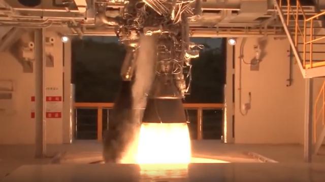 Zo wordt een 75.000 kilo zware raket getest
