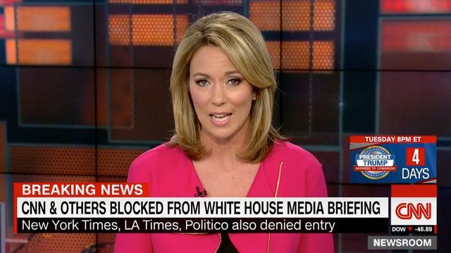 CNN reageert op weigering bij persconferentie Witte Huis