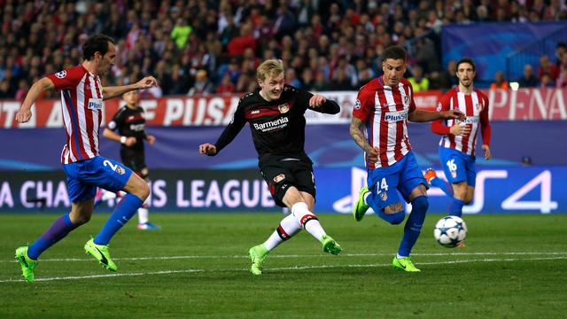 Samenvatting Atletico Madrid-Bayer Leverkusen