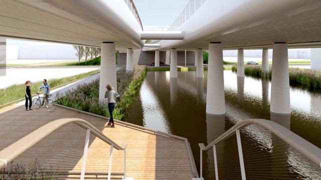 Kritiek op Maximabrug Alphen aan den Rijn in uitzending Van Onze Centen