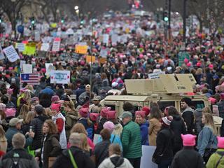 In totaal gaan wereldwijd ruim 2,5 miljoen demonstranten de straat op
