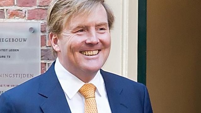 Koning Willem-Alexander bij jubileum Maatschappij der Nederlandse Letterkunde