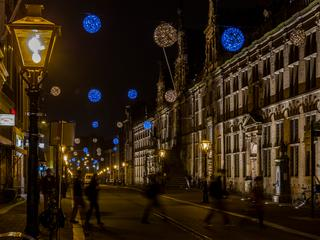 Duurzame LED-bollen in historisch centrum