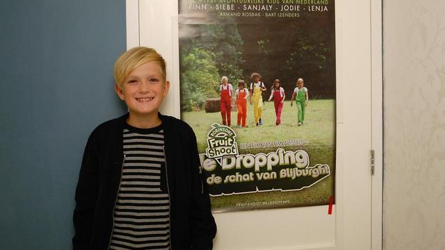 11-jarige Finn van Eijk debuteert met rol in film