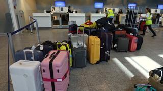 Passagiers blijven achter na bagagestoring vliegveld Eindhoven