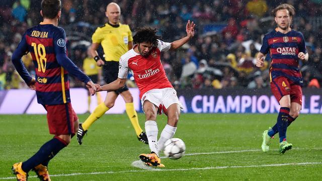 Wenger zag kans op stunt Arsenal na gelijkmaker tegen Barcelona