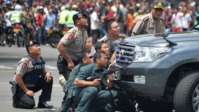 Doden door explosies in centrum Jakarta