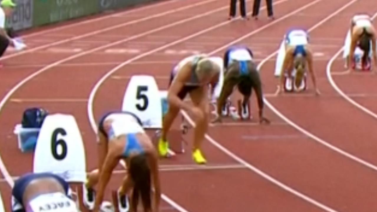Schippers wint 200 meter na zeldzame valse start in Oslo