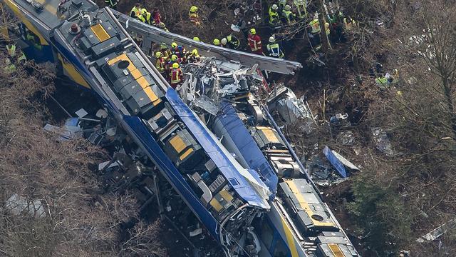 Dienstleider opgepakt in onderzoek naar treinongeluk Beieren