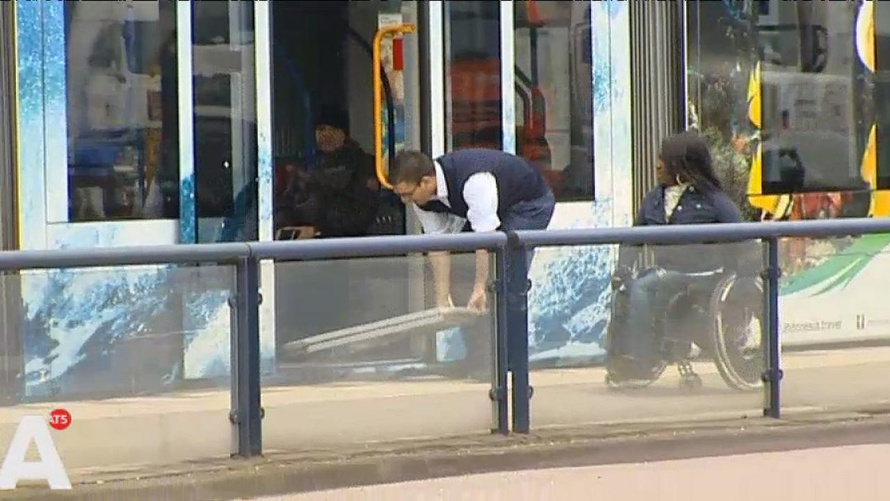 Gehandicapte drie keer geweigerd bij tram